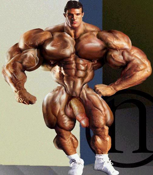 Muscle men naked big